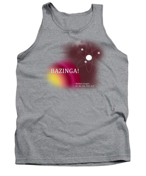 Bazinga Tank Top