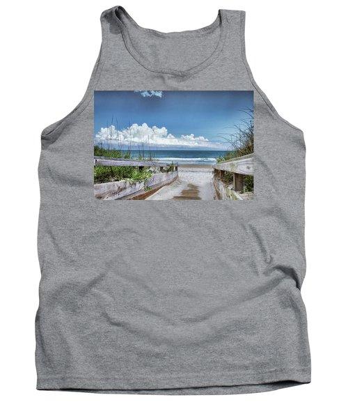 Beach Access Tank Top by Phil Mancuso