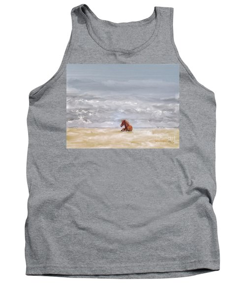 Tank Top featuring the photograph Beach Baby by Lois Bryan