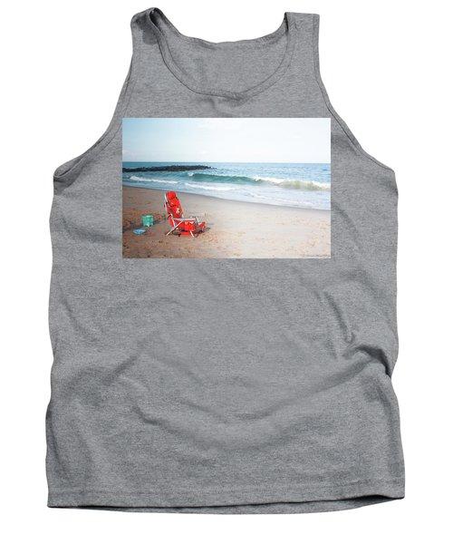 Beach Chair By The Sea Tank Top