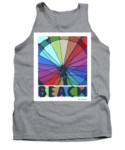 Beach Design By John Foster Dyess Tank Top