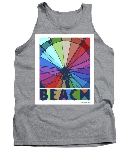 Beach Design By John Foster Dyess Tank Top