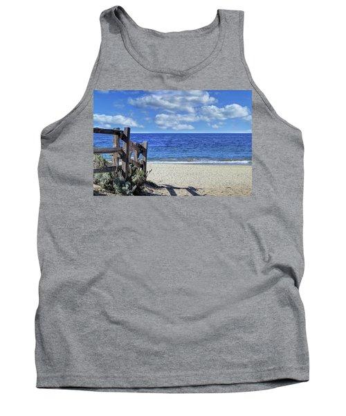 Beach Fence Tank Top
