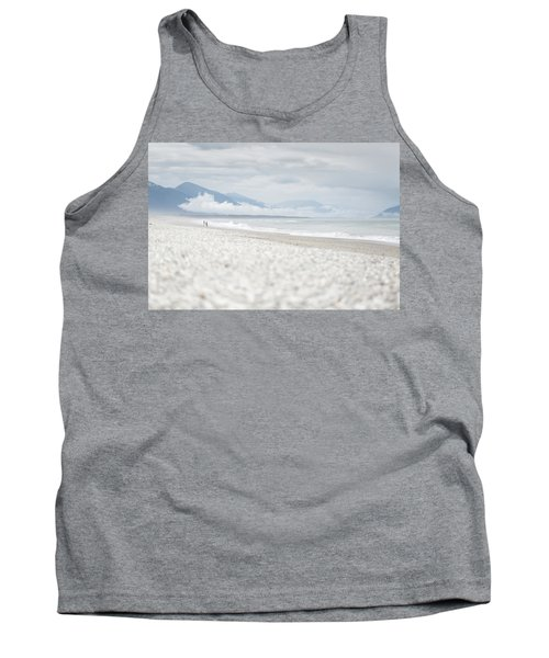 Beach For Two Tank Top by Alex Conu