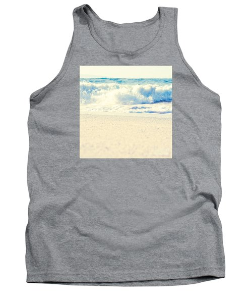 Tank Top featuring the photograph Beach Gold by Sharon Mau