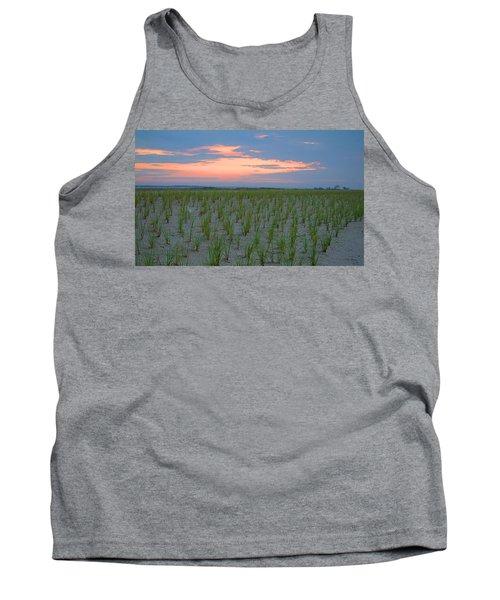Tank Top featuring the photograph Beach Grass Farm by  Newwwman