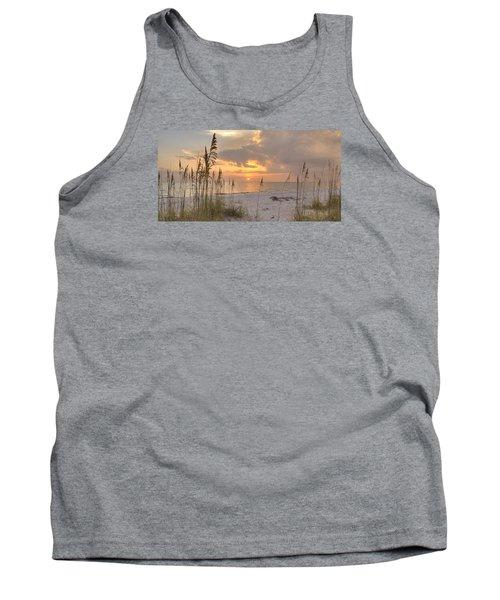 Beach Grass Sunset Tank Top