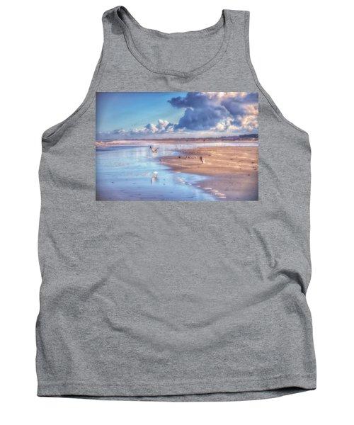 Beach Gulls Tank Top