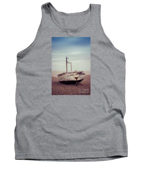 Beach Home Tank Top by David Warrington