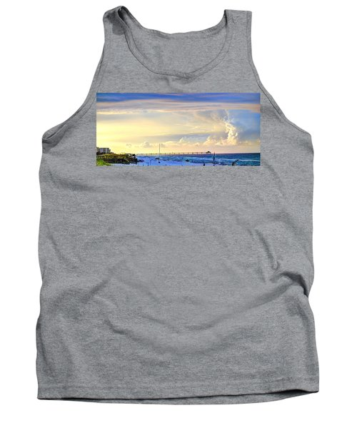 Beach House Window Tank Top