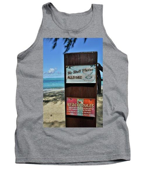 Beach Rules Tank Top