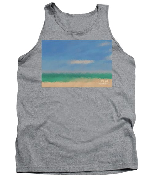 Beach Scene 6. Modern Decor Collection Tank Top by Mark Lawrence