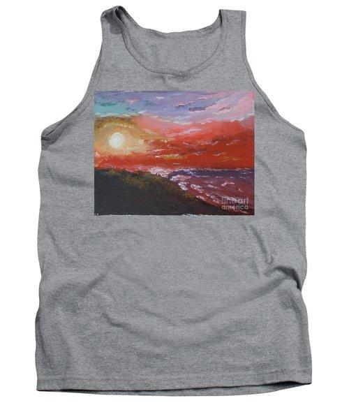 Beach Sunset Tank Top
