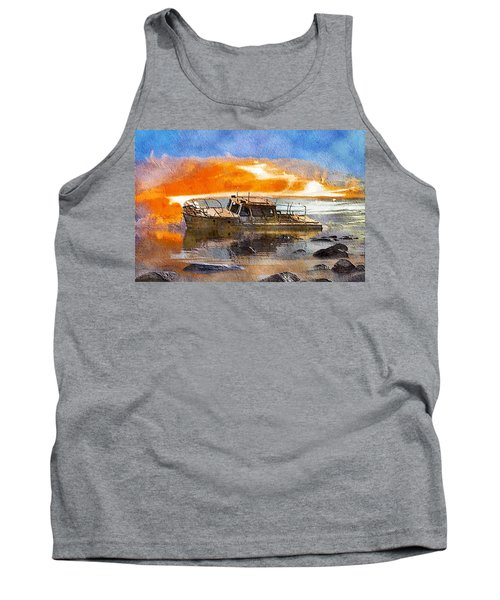 Beached Wreck Tank Top