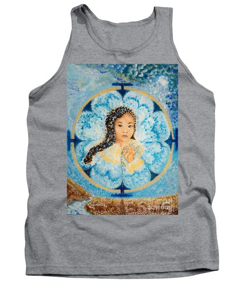 Flying Lamb Productions.        Beads Of Life Tank Top