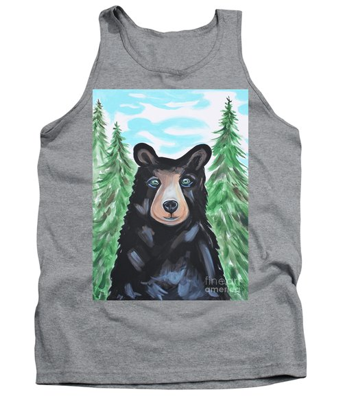 Bear In The Woods Tank Top
