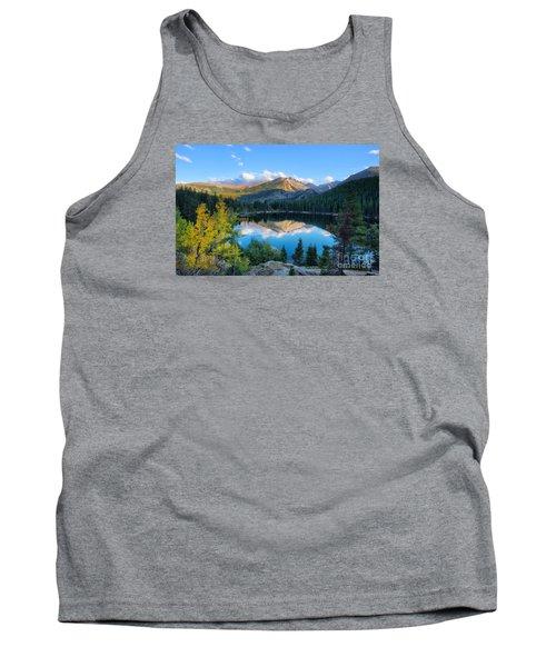 Bear Lake Reflection Tank Top by Ronda Kimbrow