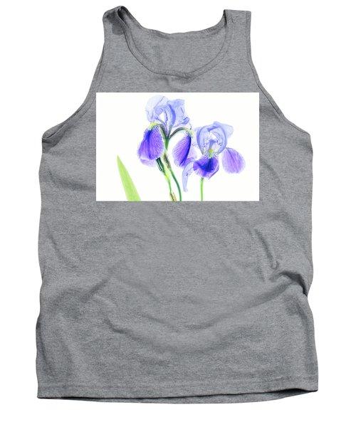 Bearded Iris Tank Top