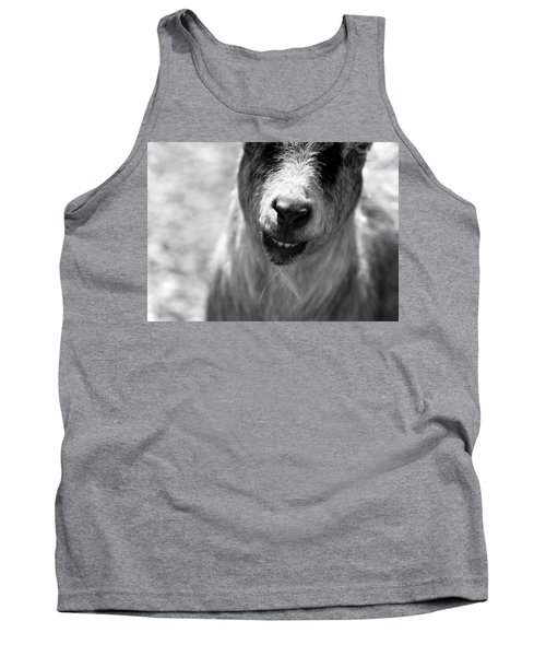 Tank Top featuring the photograph Beardy Smiley by Angela Rath