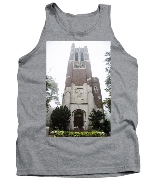 Beaumont Tower In The Fog  Tank Top