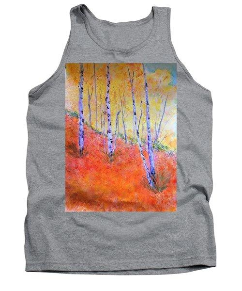 Beautiful Birches Tank Top