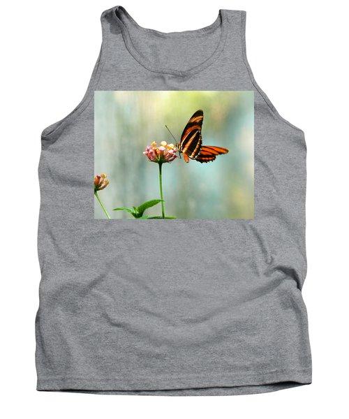 Beautiful Butterfly Tank Top by Laurel Powell
