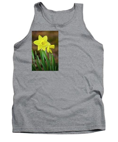 Beautiful Daffodil Flower Tank Top