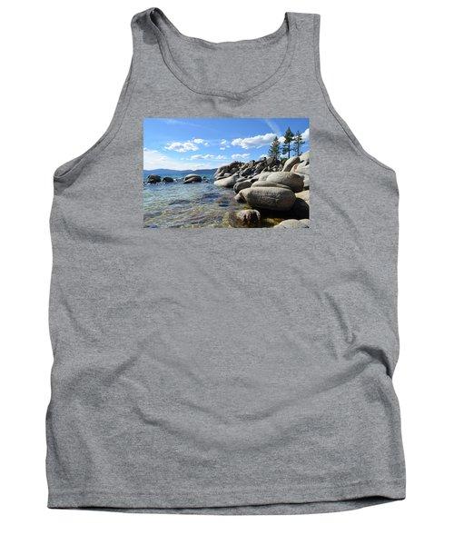 Beautiful Day At Lake Tahoe Tank Top