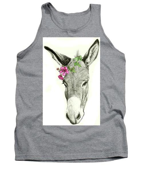 Beautiful Donkey Tank Top by Heidi Kriel