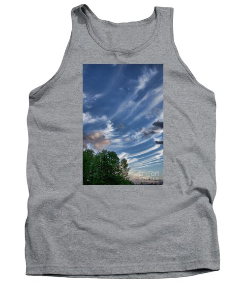 Tank Top featuring the photograph Beautiful Sky by Alana Ranney