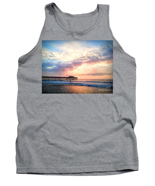 Beautiful Sunrise In Myrtle Beach South Carolina Usa Tank Top by Vizual Studio