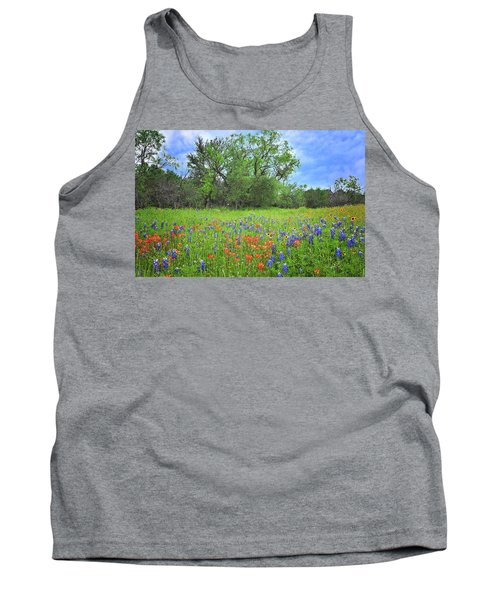 Beautiful Texas Spring Tank Top by Lynn Bauer