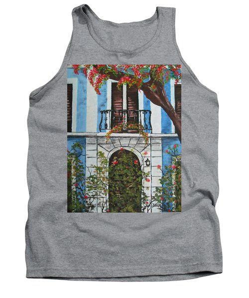 Beauty In Old San Juan Tank Top