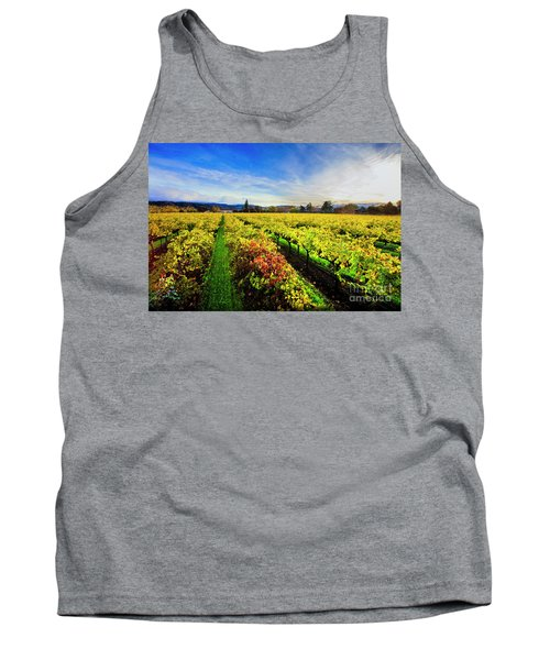 Beauty Over The Vineyard Tank Top