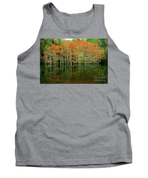 Beaver's Bend Cypress All In A Row Tank Top