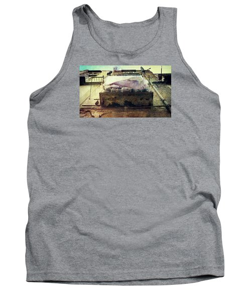 Bedclothes Tank Top by Vittorio Chiampan
