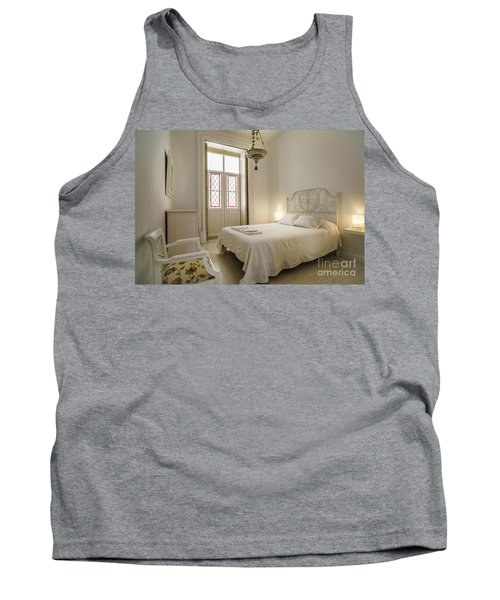 Tank Top featuring the photograph Bedroom Apartment In The Heart Of Cadiz by Pablo Avanzini