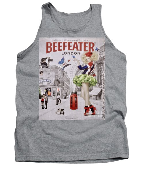 Beefeater Gin Tank Top by Mary Machare