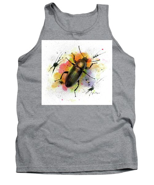 Beetle Illustration Tank Top
