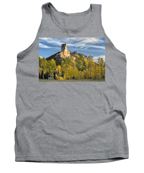 Before Sunset At Chimney Rock Tank Top