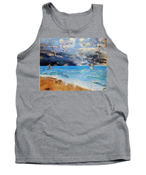 Before The Storm Tank Top by Vicky Tarcau