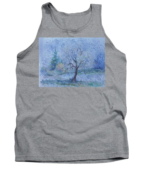 Begining Of Another Winter Tank Top by Anna  Duyunova