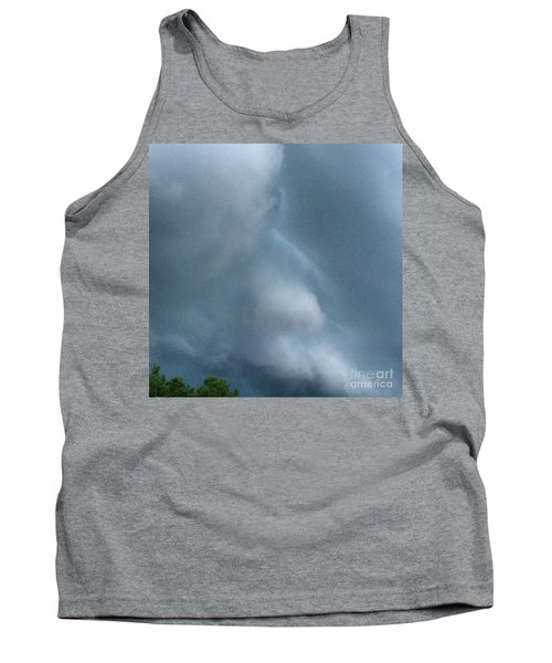 Behold He Cometh With Clouds Tank Top