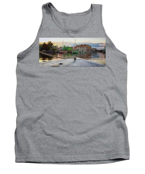 Belize City Harbor Tank Top
