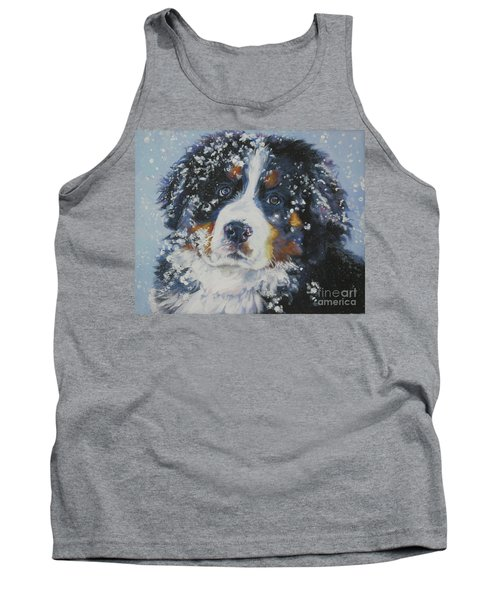Bernese Mountain Dog Puppy Tank Top