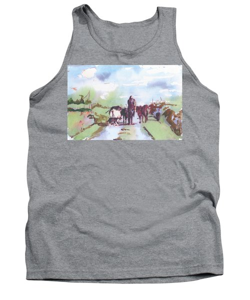 Bernie On The Road Tank Top