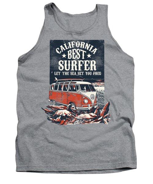 Best Surfer Tank Top