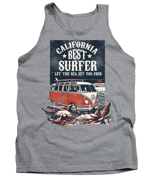 Best Surfer Tank Top