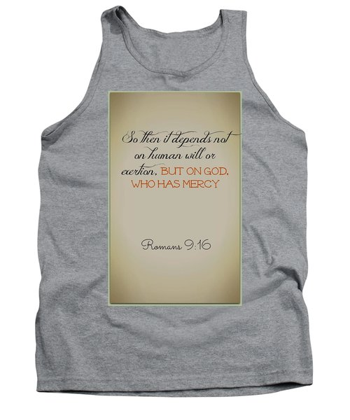 Beyond Our Imperfection Tank Top