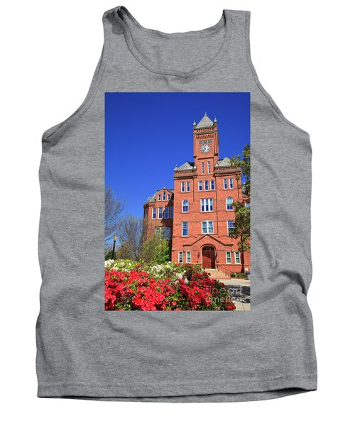 Biddle Hall In The Spring Tank Top
